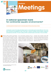 Meetings29_NationalSpecimenBank_cover