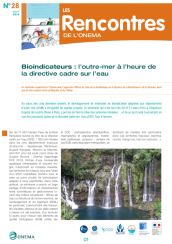 Rencontres28_Bioindicateurs OutreMer_2014_couv