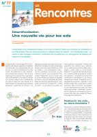 Désartificialisation, une nouvelle vie pour les sols. Synthèse de la journée d'échanges techniques organisée par le centre de ressources Génie écologique de l'OFB, 5 novembre 2020